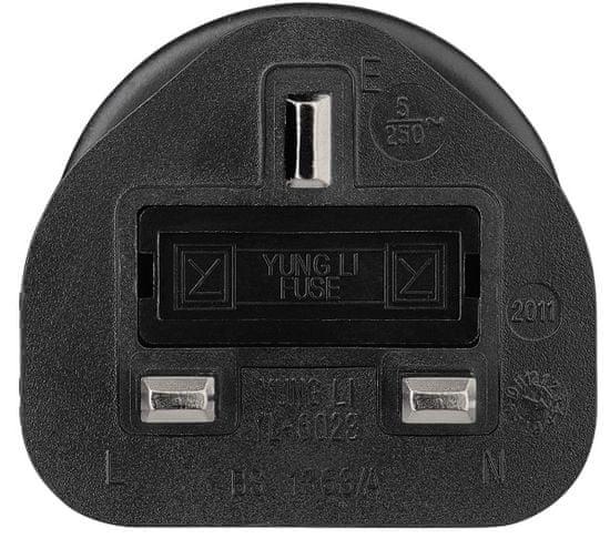 Hama Cestovní zásuvkový adaptér do Británie, 3pól. 108881