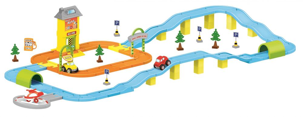 DOLU Dětská autodráha Město