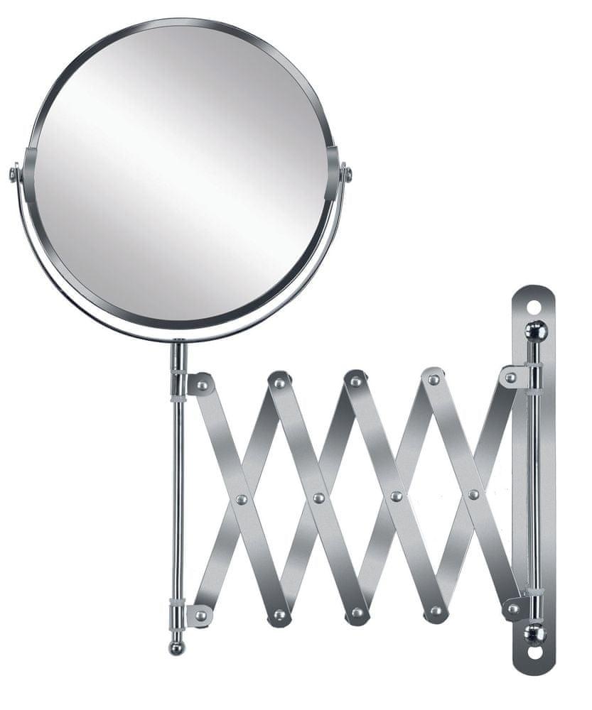 Kleine Wolke Kosmetické zrcadlo MOVE MIRROR stříbrná
