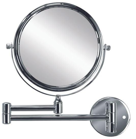 Kleine Wolke kozmetično ogledalo RIDGE MIRROR, srebrno