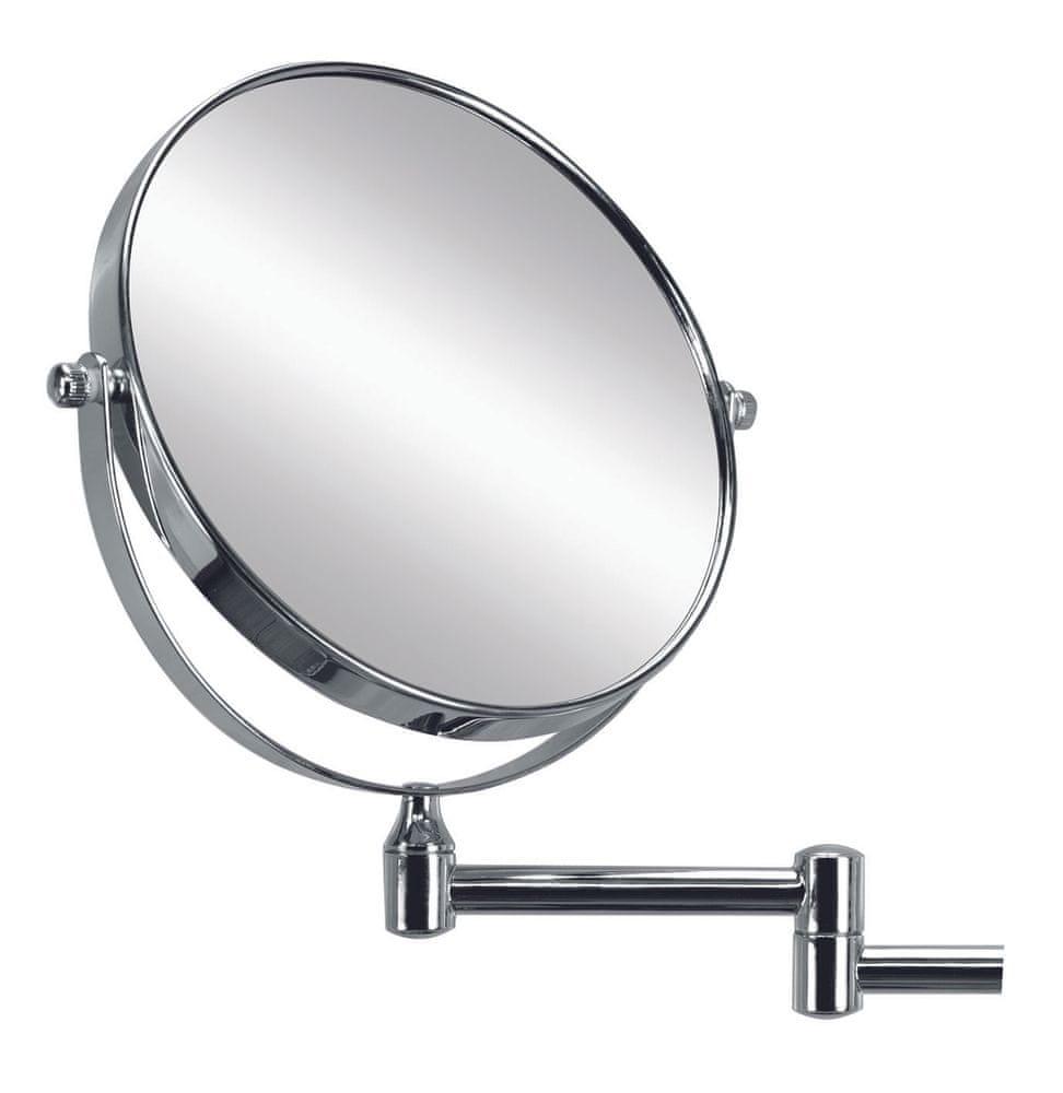 Kleine Wolke Kosmetické zrcadlo RIDGE MIRROR stříbrná