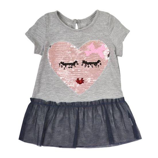 Garnamama dievčenské šaty s flitrami