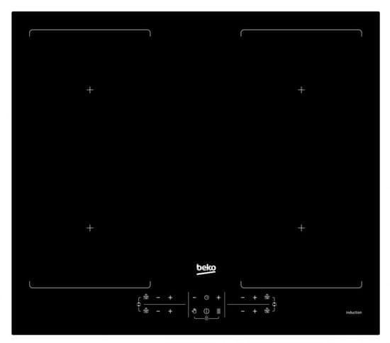 Beko indukcijska kuhalna plošča HII64201F2HT