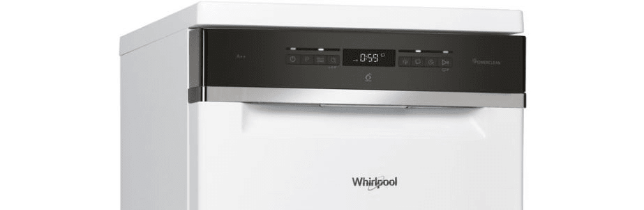 Whirlpool WSFO 3O23 PF ovládací panel
