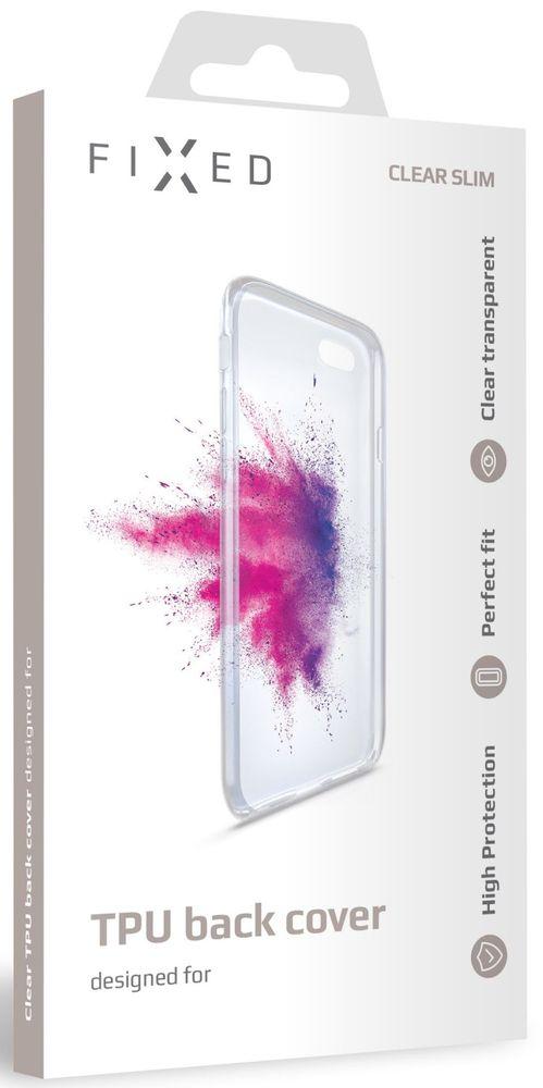 Fixed TPU gelové pouzdro pro Huawei Y7 (2019) FIXTCC-386, čiré