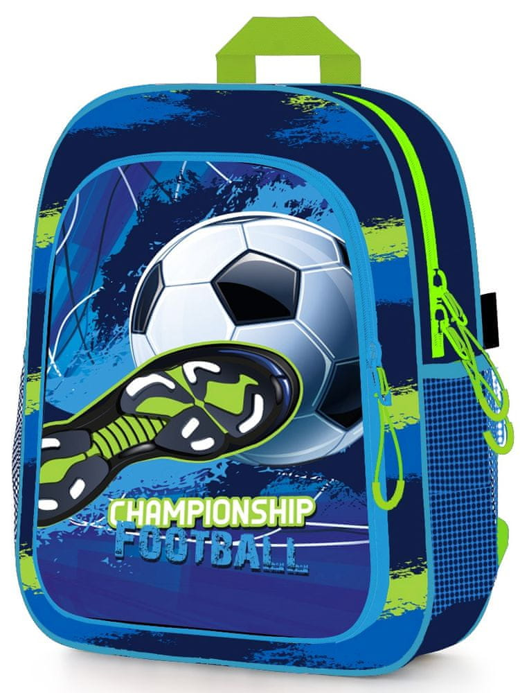 Karton P+P Dětský předškolní batoh fotbal