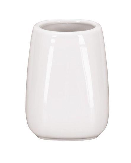 Kleine Wolke CONE fürdőszobai fehér pohár