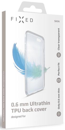 FIXED Ultratenké TPU gelové pouzdro Skin pro Samsung Galaxy M20 FIXTCS-392, čiré