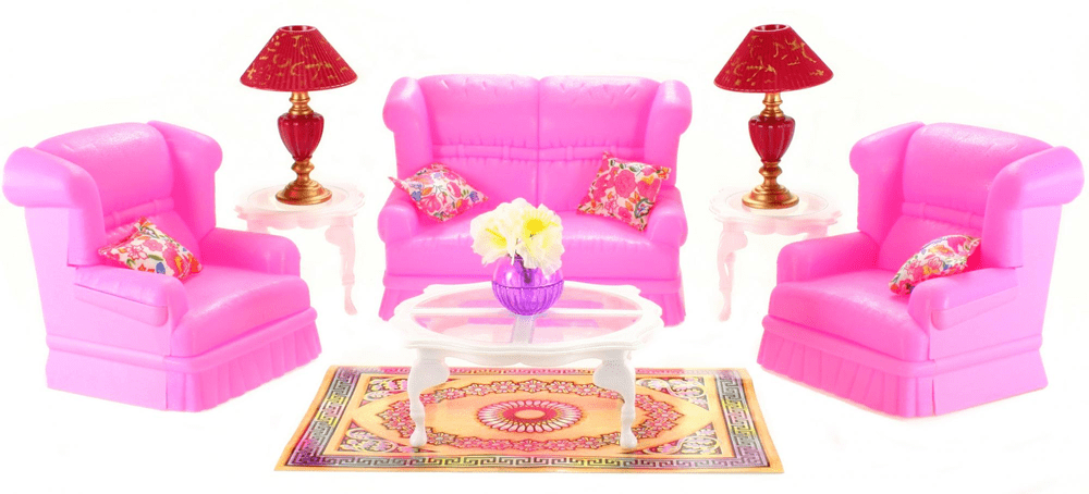 Lamps Glorie Obývací sada pro panenky typu Barbie