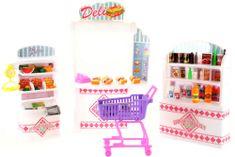 Lamps Gloire szupermarket Barbie babák számára