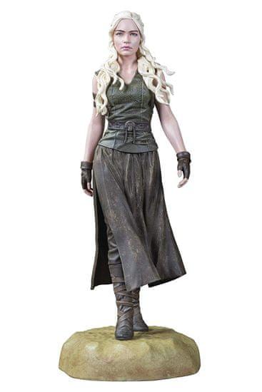 Trónok harca szoborfigura- Daenerys, sárkányok anyja