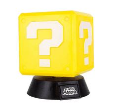 Paladone svetilka Super Mario Question Block 3D