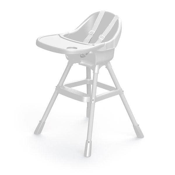 DOLU Dětská jídelní židlička, bílá