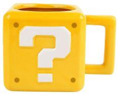 Paladone skodelica Super Mario Question Block
