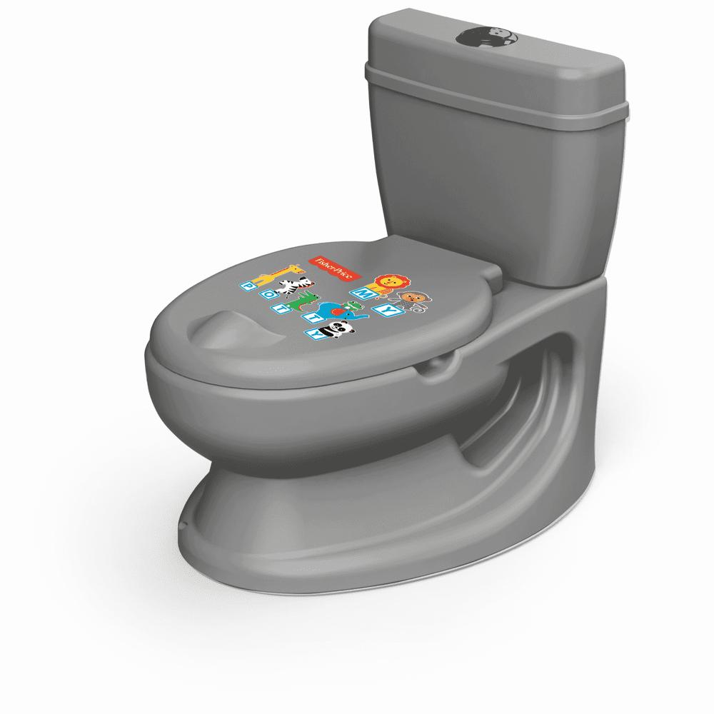 Fisher-Price Dětská toaleta, šedá