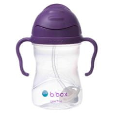 b.box Sippy cup hrneček s brčkem fialová