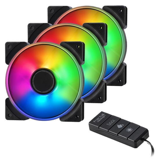 Fractal Design kontroler Fan Adjust R1 RGB, črn