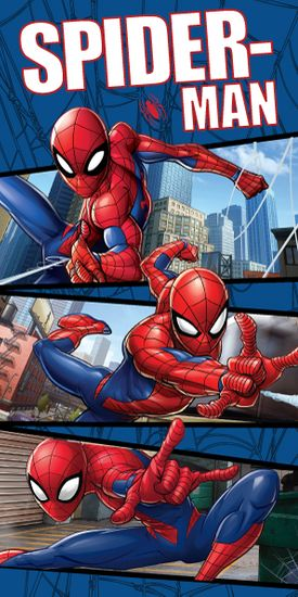 "Jerry Fabrics ručnik Spider-man ""blue 02"""