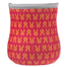 b.box Neoprén csomagolás a csészére szívószállal piros