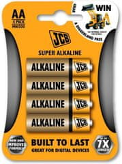 JCB Baterija AA (LR6), 4 kosi