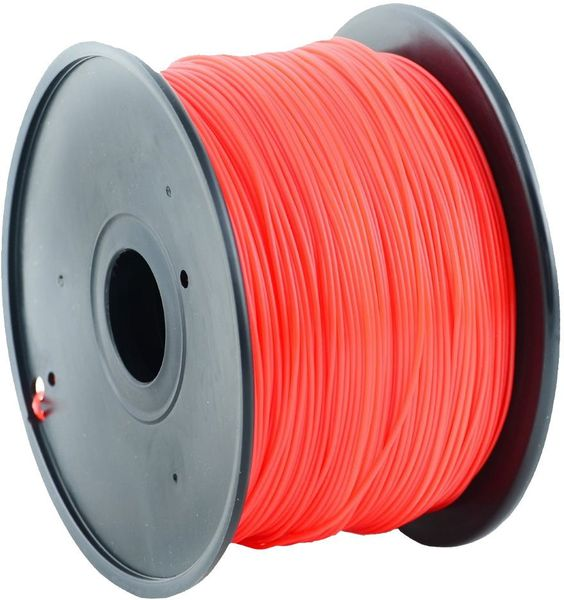 Gembird tisková struna (filament), ABS, 1,75mm, 1kg, červená (3DP-ABS1.75-01-R)