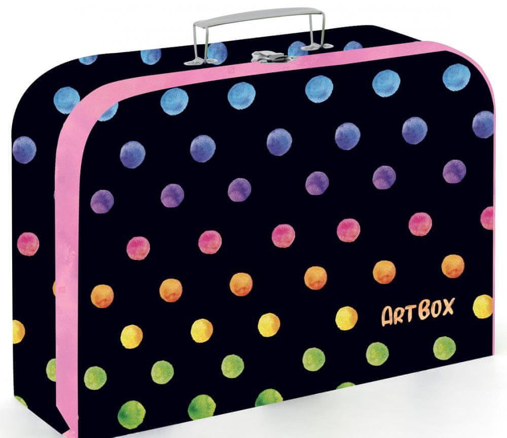 Karton P+P Kufřík lamino 34 cm Oxy Dots colors