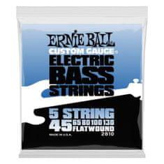 Ernie Ball 2810 Flatwound Bass 5-string .045 - .130