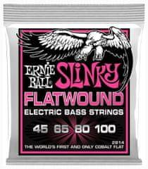 Ernie Ball 2814 Super Slinky Flatwound Cobalt 45/100