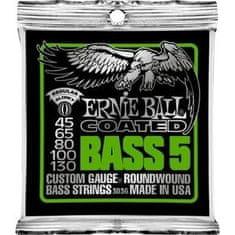 Ernie Ball 3836 Coated Bass Strings - Regular 5-String Bass Strings .045 - .130