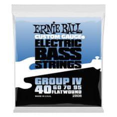 Ernie Ball 2808 Flatwound Bass Group IV .040 - .095