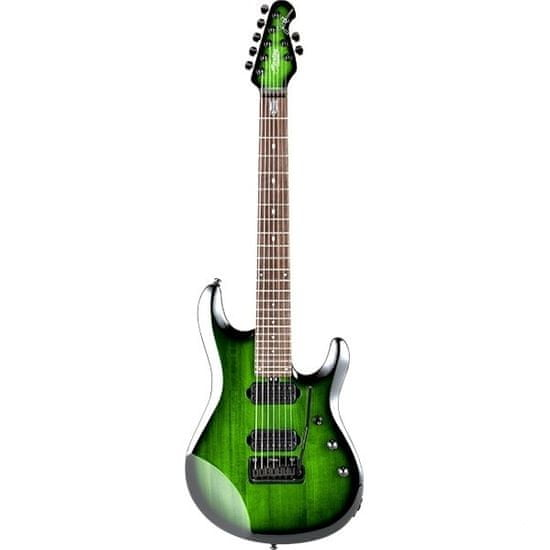 Sterling by MusicMan JP70TGB - John Petrucci 7 strunná kytara Trans Green Burst