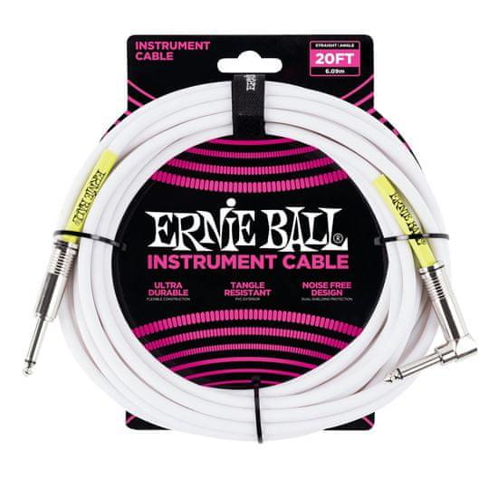 Ernie Ball 6047 20' Instrument Classic Cable - nástrojový kabel rovný / zahnutý jack - 6.09m