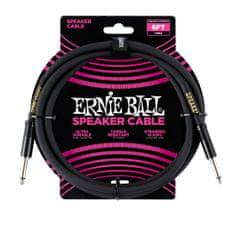 Ernie Ball 6072 Speaker Classic Cable - reproduktorový kabel rovný / rovný jack - 1.83m - černá barva - 1ks