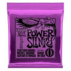 Ernie Ball 2220 Power Slinky Nickel Wound .011 - .048 Purple Pack struny na elektrickou kytaru