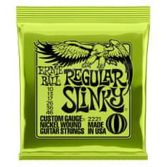 Ernie Ball 2221 Regular Slinky Nickel Wound .010 - .046 Lime Pack struny na elektrickou kytaru