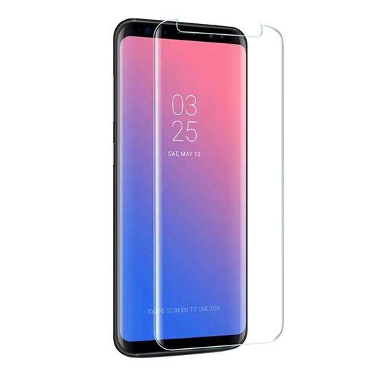 Premium kaljeno steklo Full screen z UV premazom in lučko za Samsung Galaxy S10 G973