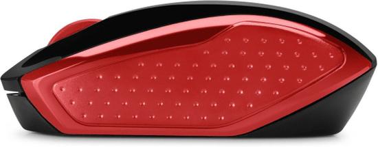 HP mysz bezprzewodowa 200, czerwony