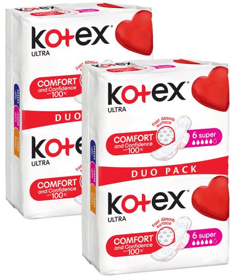 Kotex Ultra Super 24ks (2 x DUO Pack 12ks)