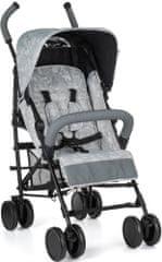 Petite&Mars otroški voziček Musca, Basic Line, svetlo siva