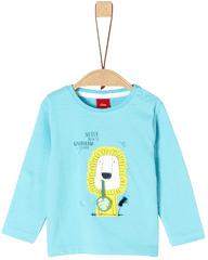 s.Oliver chlapecké tričko 68 tyrkysová
