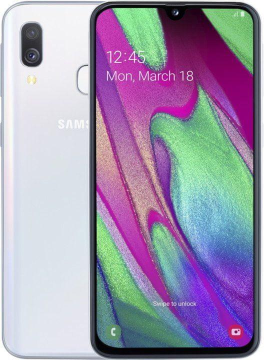 Samsung Galaxy A40, 4GB/64GB, White