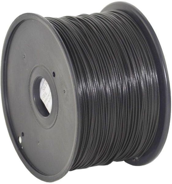 Gembird tisková struna (filament), ABS, 1,75mm, 1kg, černá (3DP-ABS1.75-01-BK)