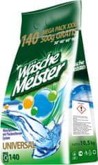 WascheMeister Universal Prací prášek 10,5 kg – 140 praní