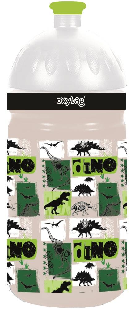 oxybag Láhev na pití T-rex 500ml