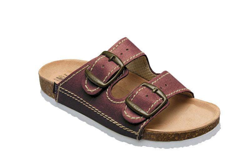 SANTÉ Zdravotní obuv dětská D/202/C32/BP bordo (Velikost 32)