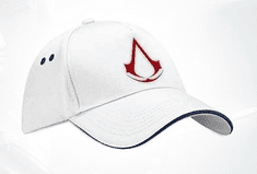 GAYA kapa s šiltom Assassins Creed Crest White, bela
