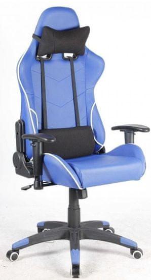 Hyle Uredski stolac Racing Pro K-8970, plavi