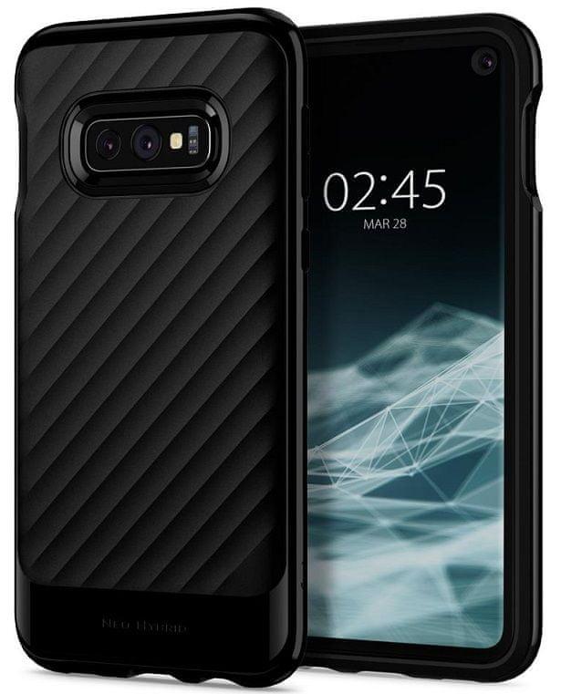 Spigen Ochranný kryt Neo Hybrid pro Samsung Galaxy S10e, černý 609CS25845