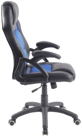 Hyle pisarniški stol K-8070, moder