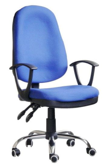 Hyle radni stolac K-5118B, plavi